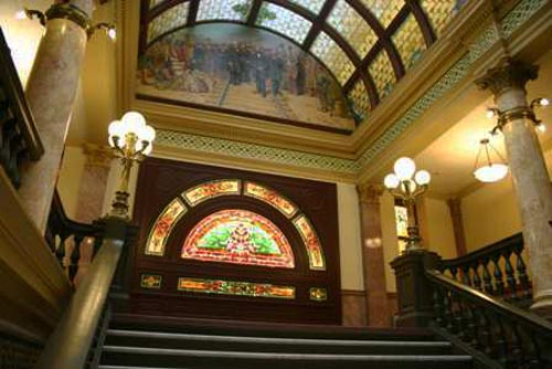 Grand Staircase, Montana State Capitol Building